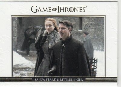Game Of Thrones Season 7 - Gold Parallel Relationships Chase Card Dl49 (007/225)