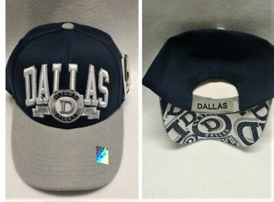 Dallas Cowboys Team Color  3D Embroidered Hat/Cap - EXCEPTIONAL QUALITY!!