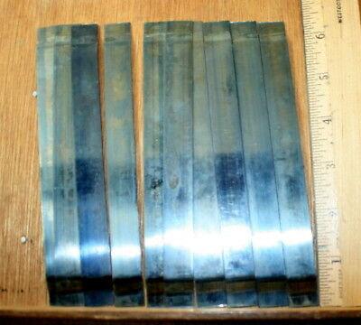 "Steel Galley Springs 6""  ]10 pieces] Mostly New. Letterpress Printing"