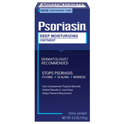 Psoriasin Deep Moisturising Psoriasis Relief Ointment 119g 4.2oz IN NEW TUBE