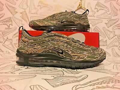 326371a3df Nike Air Max 97 Premium Qs Usa Country Camo Olive Black Sand Aj2614 205 Sz  10