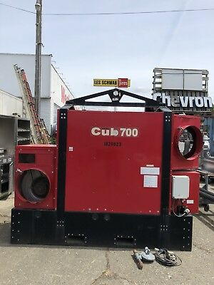 2007 Arctic Bear Cub 700 Wacker Neuson Gas/Diesel 720,000 BTU ground heater
