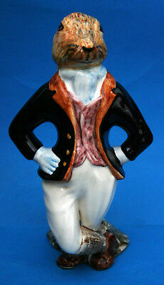 "Rye Cinque Ports Pottery Country Gentleman Figure ""hugo Hare"""