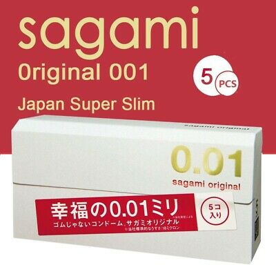 Sagami Original 001 x15 pieces  0.01mm Condoms ultra thin (3 DAYS SHIPPING)