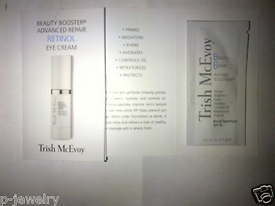 Trish McEvoy Beauty Balm Instant Solution&Advanced Retinol Eye Cream Sample