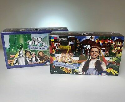 Wizard of Oz Series 1 & Series 2 - Sealed Trading Card Hobby Boxes - Breygent