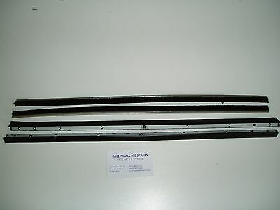 282-380/390/682-030 Mg Mgb Outer Door Seal And Inner Brush Felt Kit X 4 Pieces