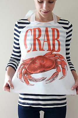 Case Of 500 Disposable Plastic Crab Bibs Free Shipping