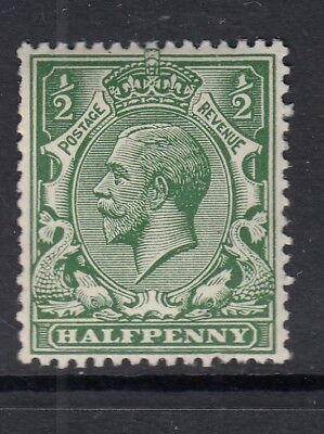 GB 1913 0.5d Multiple Royal Cypher SG397 - lightly mounted mint