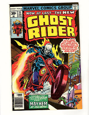 Ghost Rider #25 (1977, Marvel) NM- Gil Kane Cover Jim Shooter Don Heck