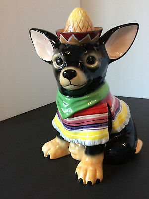 Chihuahua Cookie Jar Custom AYE CHIHUAHUA RAUL Ceramic Cookie Treat Jar By Westland Giftware