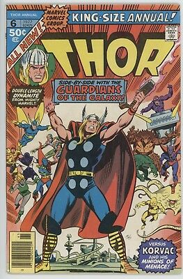 Thor Annual #6 ([June] 1977, Marvel) Starlord Guardians