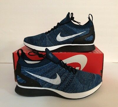 71b7048c9f88 MEN S NIKE AIR ZOOM MARIAH FLYKNIT RACER GREEN ABYSS Shoes Size 13 (918264  300)