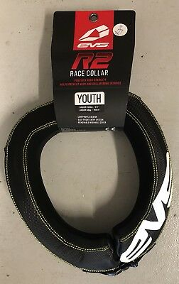 EVS R2 Race Collar Neck Brace ATV Moto Black Youth And Adult Sizes available