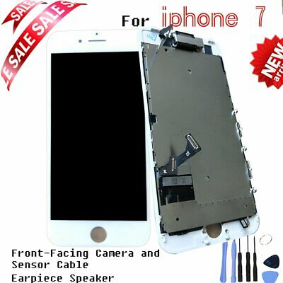 """For iPhone 7 4.7""""Full Front LCD Touch Screen Digitizer Display Replacement White"""