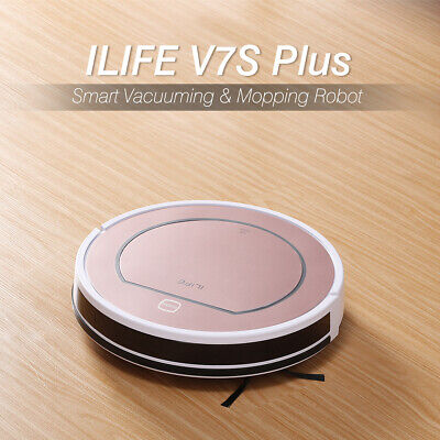 Ilife V8S Smart Robotic Aspirapolvere Mop&Vacuum Planned Cleaner LCD 750ML 2in1