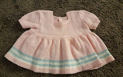 Handmade*Pink Vintage Babydoll Style Sweater*Size 2T*EVC