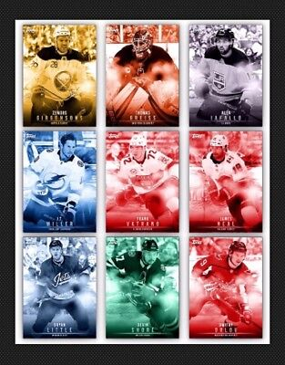 15 Card Set-Team Color Monochrome Wave 2 Tc-Topps Skate 19 Digital