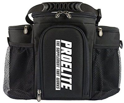 ProElite 3 Meal Bag/Cool Bag/Meal Management System/Gym Holdall/Food Organizer