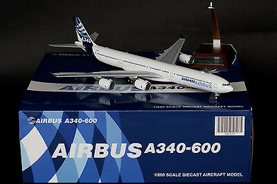JC Wings 1:200 Airbus Industrie House Color Airbus A340-600 F-WWCA XX2333