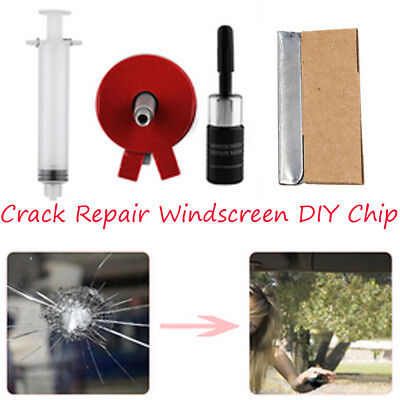 1 set Crack Repair Windscreen DIY Chip for Windshield Auto Glass Wind Screen NEW