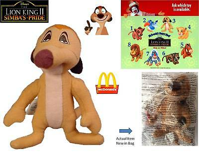 McDonalds Happy Meal Toy - 1998 The Lion King II– Timon - New in Bag