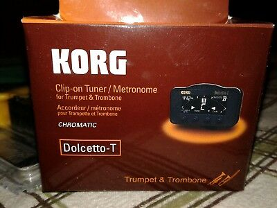 KORG CLIP-ON TUNER / metronome Dolcetto-T Dolcetto T trumpet / trombone