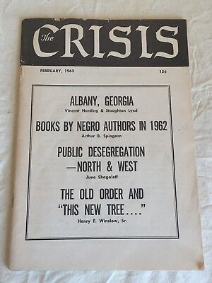 The Crisis: Record Of Darker Races Naacp Magazine Febuary 1963 Civil Rights