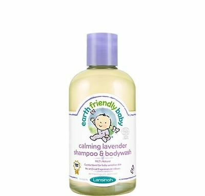 Earth Friendly Baby Calming Lavender Shampoo & Bodywash ECOCERT
