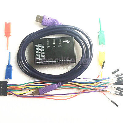 New 100MHz 16Ch USB Logic Analyzer for ARM FPGA