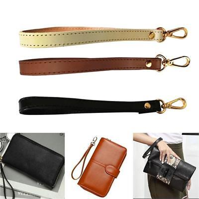 Leather Wristlet Wrist Bag Strap Replacement For Clutch Purse Handbag