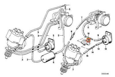Surprising Genuine Bmw E28 E30 Coupe Sedan Vacuum Valve Oem 11731705581 Eur Wiring Database Gramgelartorg