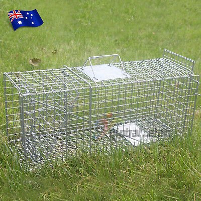 TRAP Humane Possum Cat Rabbit Bird Hare Animal Cage Live Safe Catch Feral Hare