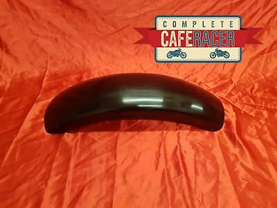 Crm12 Style Cafe Racer Rear Mudguard Finished In Black