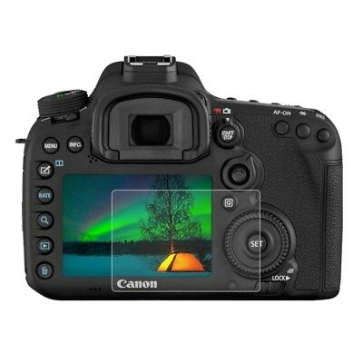PULUZ For Canon 7D Mark II Camera 2.5D 9H Tempered Glass Protector Screen Film