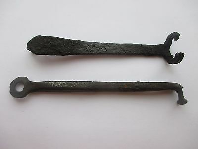Set of two Ancient iron Viking Keys - Kievan Rus 10-11th century