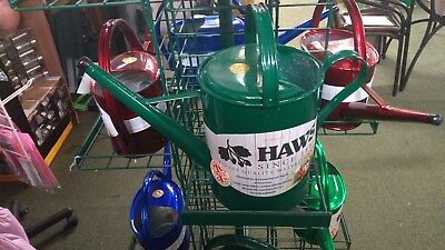 Haws 8.8 Litre Traditional Green Metal watering  Can