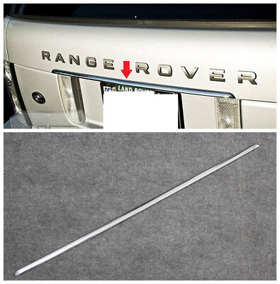 Range Rover L322 Upper Tailgate Silver Trim Strip Molding Rear Cargo Door 03~09