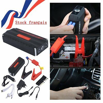 Jump Starter 68800mAh 12V Chargeur Auto Booster Batterie Voiture Power Bank Car