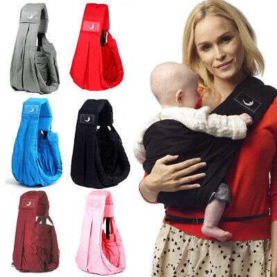 New Multifunction Newborn Baby Sling Holder Adjustable Carrier Cotton Pouch Bag