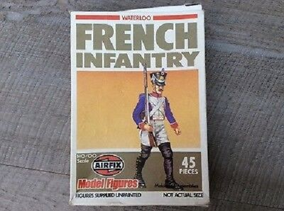 Airfix - Waterloo - French Infantry - 2x in 1 Karton (85 Fig.) - unvollständig