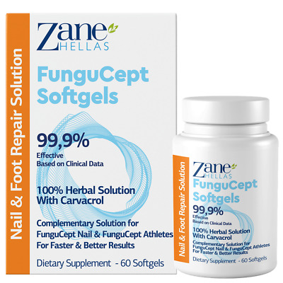 Fungus Stop SOFTGELS.COMPLEMENTARY SOLUTION avec Fungus Solution d'arrêt d.