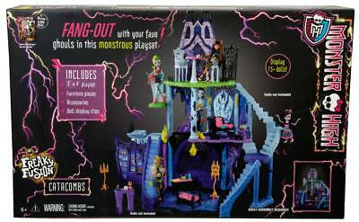Spielset Mattel Monster High Freaky Fusion Catacombs Playset BJR18   6+ Years