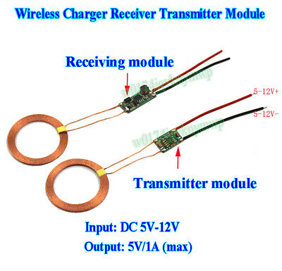 WIRELESS CHARGING CHARGER Transmitter + Receiver Power
