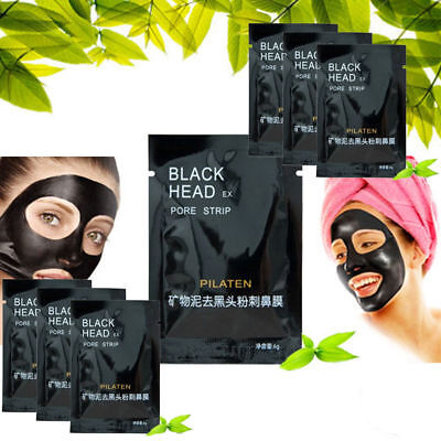 PILATEN Blackhead Remover Strips Face Cleansing Deep Pore Peel Off  Acne Mask 6g
