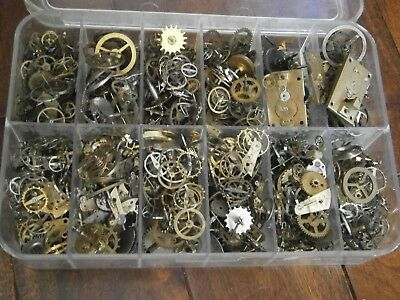 1kg  Watch Spares clock Gears Cogs Parts Wheels Watchmaker Steampunk craft