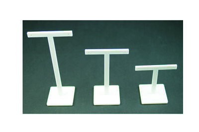 Premium Quality Plastic T-Bar Earring Stands 3 Sizes & 4 Colours Available!!