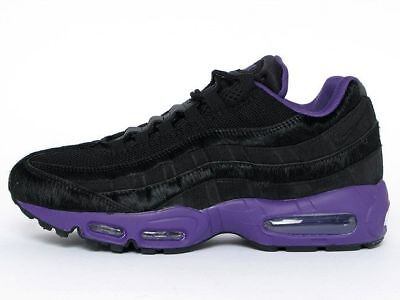 grand choix de cc685 8ce6d NIKE AIR MAX 95 Sneakers New Black Violet HORSEHAIR Year of the horse  609048-025