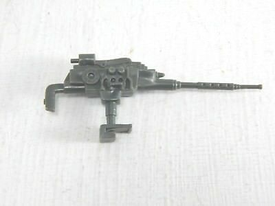 1983 GI JOE ARAH HEADQUARTERS COMMAND CENTER  MACHINE GUN PART ACCESSORY