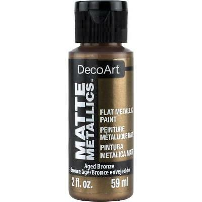 DecoArt Americana Acrylic Matte Metallics Paint 2oz (59ml)